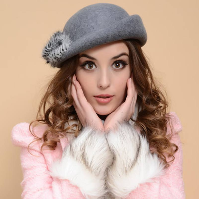 модные головные уборы осень-зима: шляпка