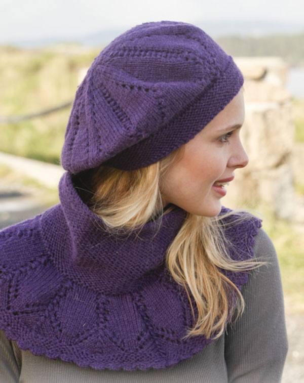 модные головные уборы осень-зима: береты осени