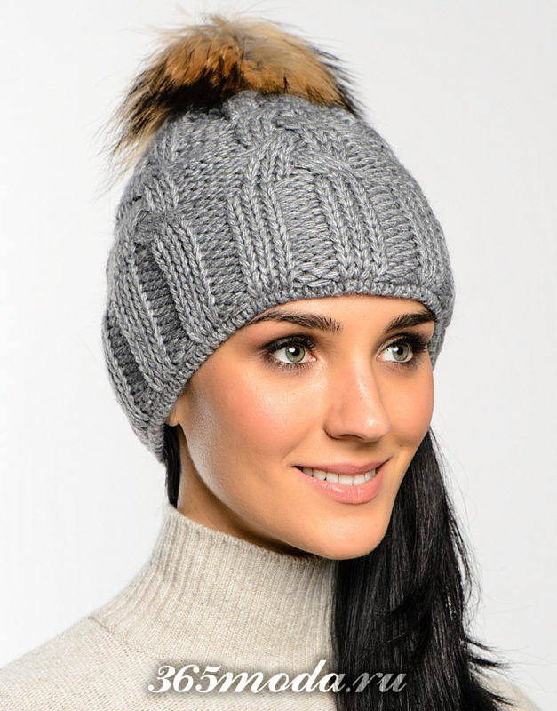 стильные осенние шапки