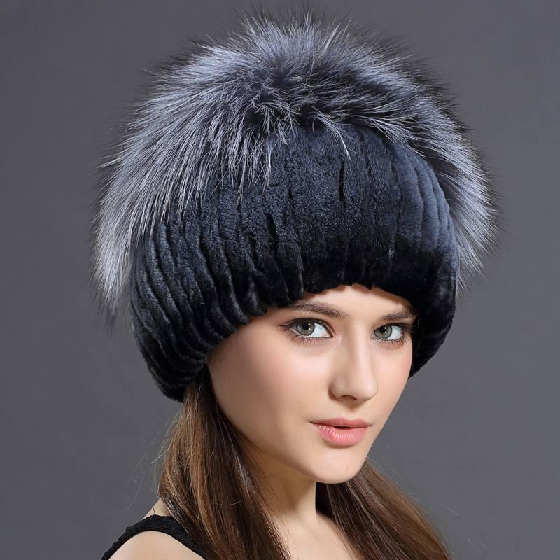 модные головные уборы осень-зима: меховые шапки сезона