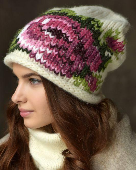 головной убор осень-зима: принты шапок