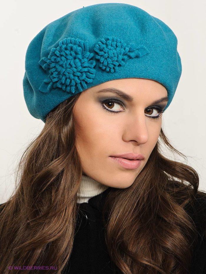 модные головные уборы осень-зима: береты