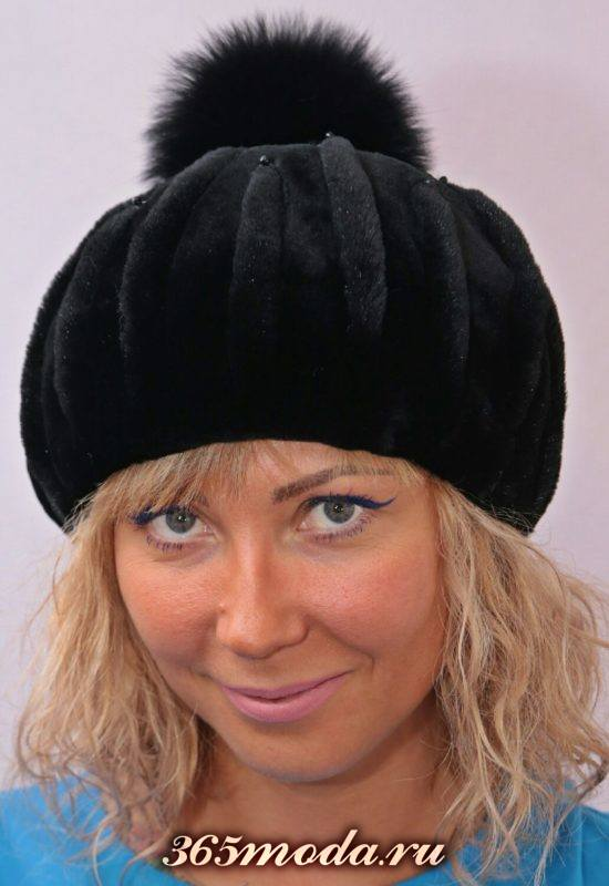 стильные шапки из меха
