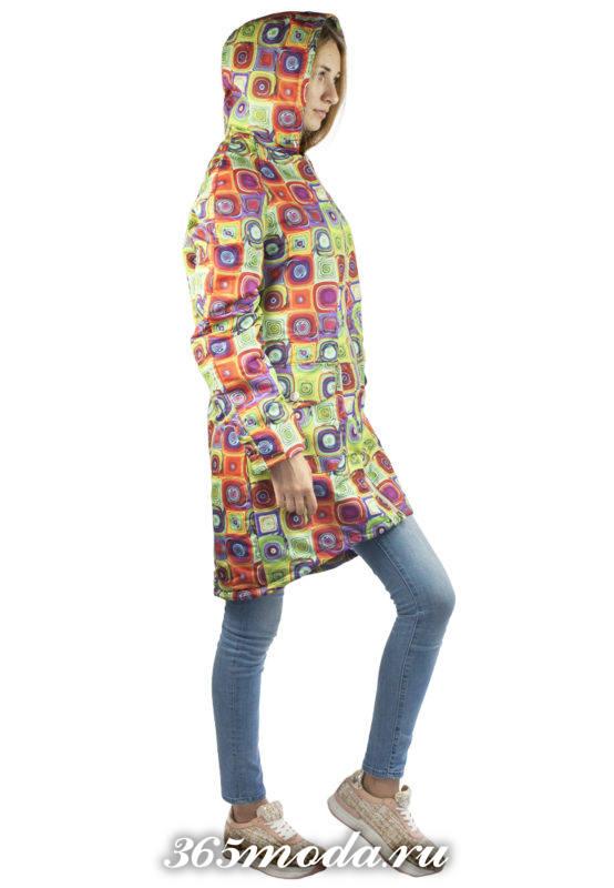 цветные куртки