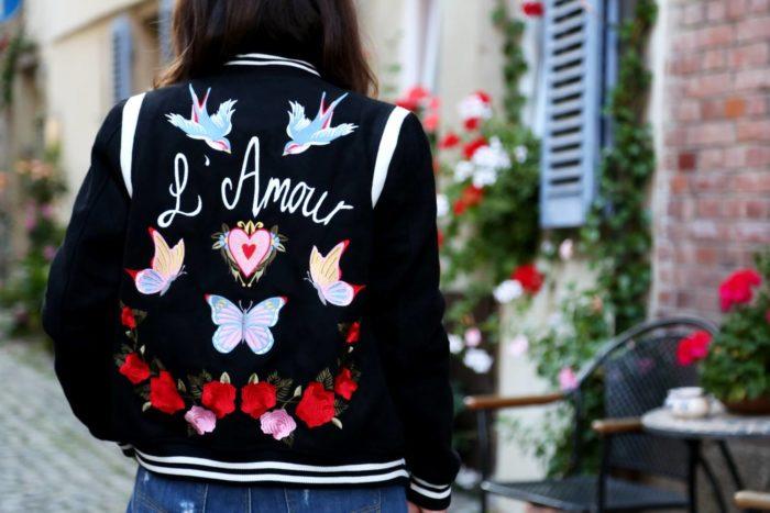 декор весенних курток