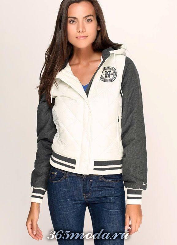 спортивная модная куртка
