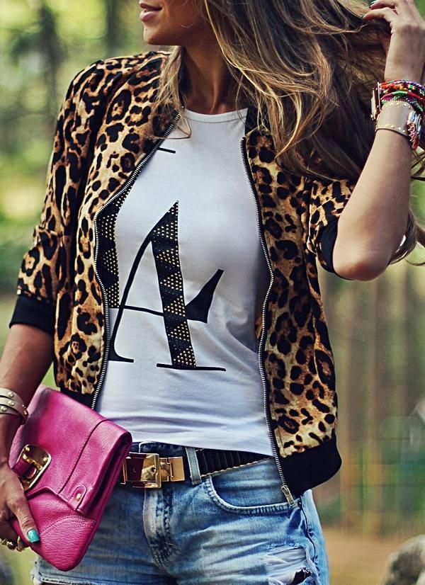 модные принты курток