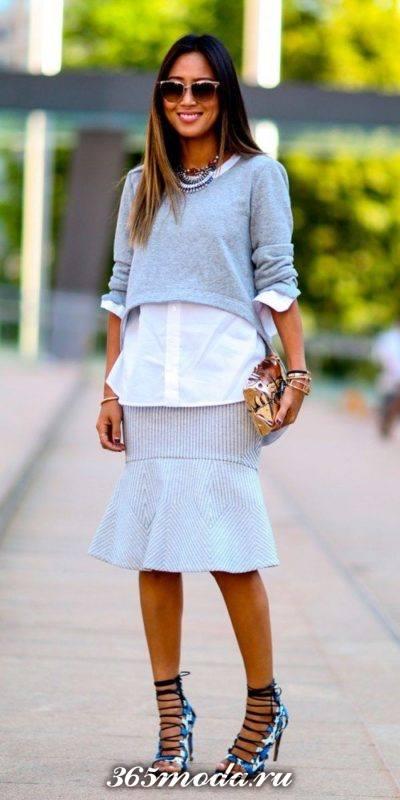 модные луки стиле casual