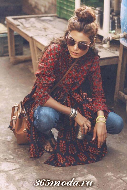 модные луки в стиле бохо