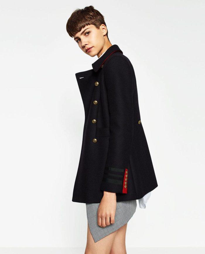 пальто весна 2019: короткое