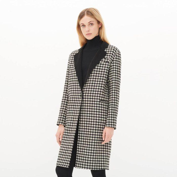пальто весна 2019: модное в клетку