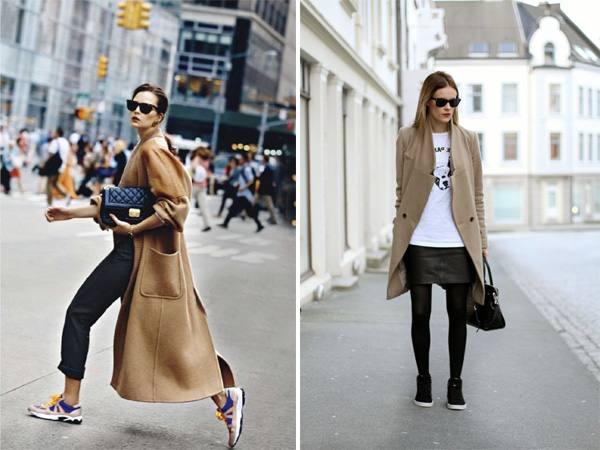 модное спортивное пальто