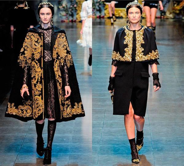 модный декор пальто