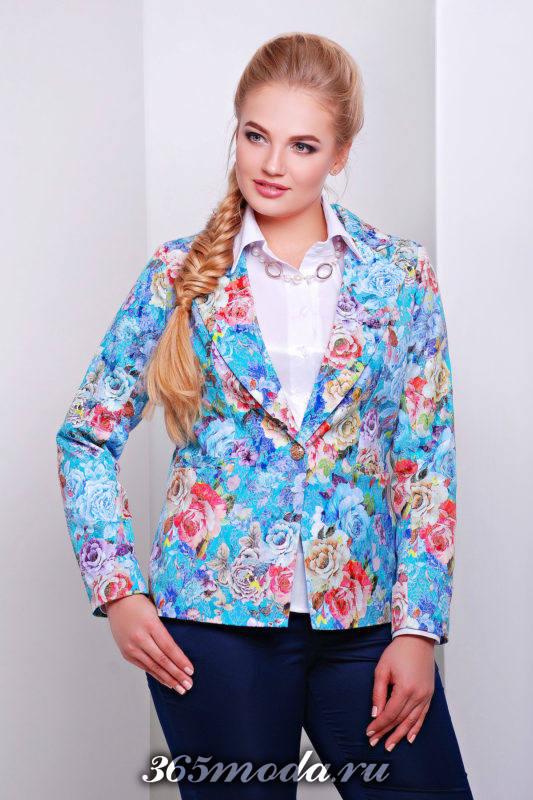 модные расцветки жакетов