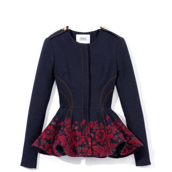 модные пиджаки 2019-2020: пеплум в моде