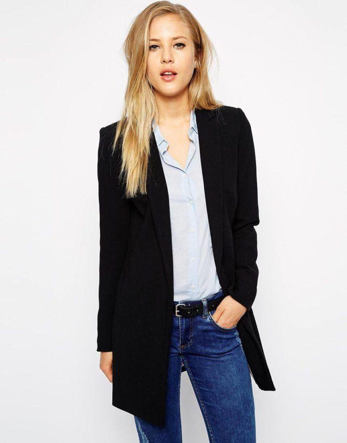 модные пиджаки осень-зима 2019-2020: удлиненные