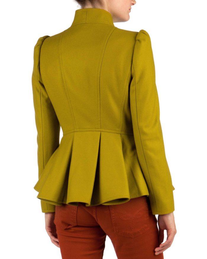 модные пиджаки 2019-2020: пеплум