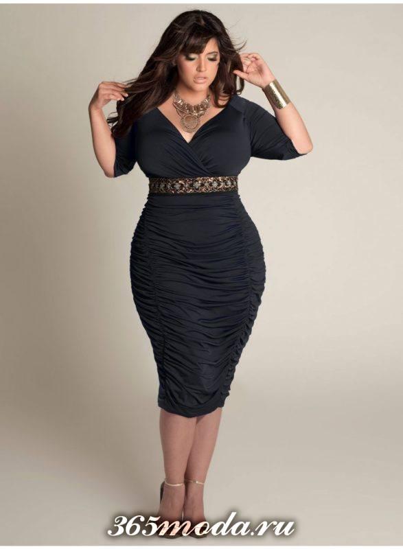дизайнерские платья для полных