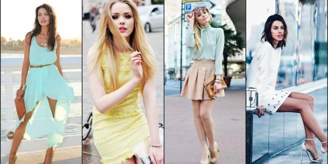 Что модно носить весной: яркие бирюза желтая белая