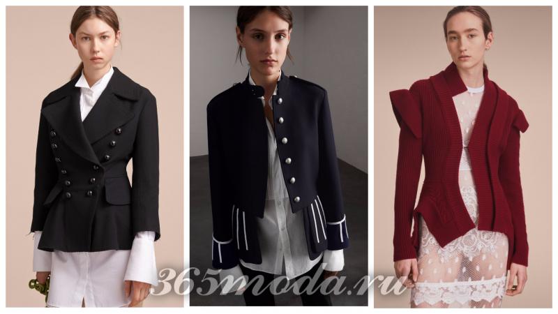 Что модно носить весной: пиджаки черный красный