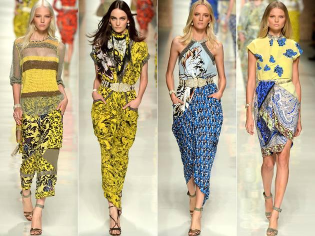 Что модно носить весной, модные принты весны: оттенки желтого в одежде