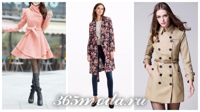 Что модно носить весной, модные куртки весны: розовая, с принтом, оливковая