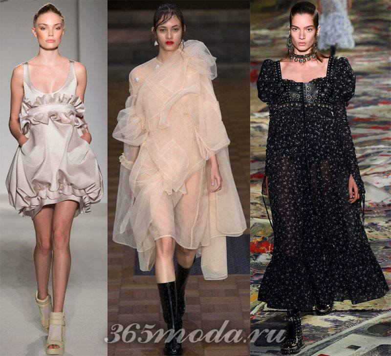Что модно носить весной: варианты платьев
