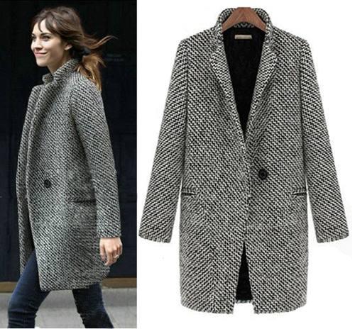 Что модно носить весной: пиджаки в квадратик