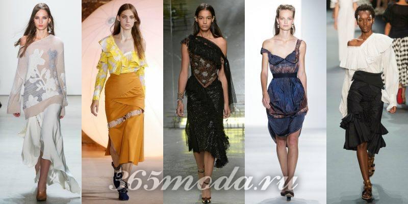 Что модно носить весной: разноцветные платья