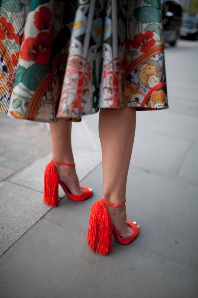 модная обувь в уличном стиле