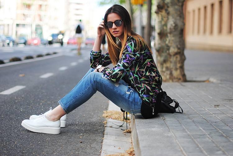 джинсы в уличном стиле