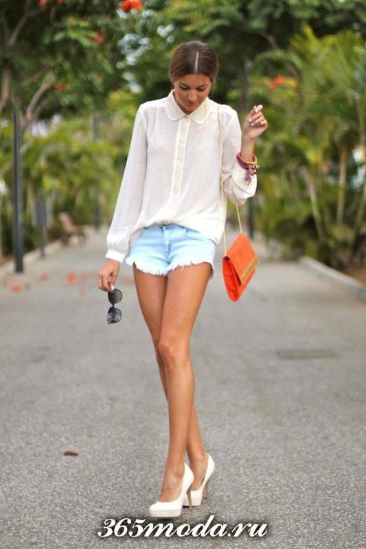 шорты в уличном стиле
