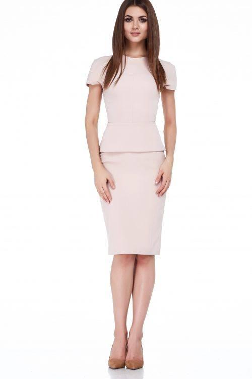 модные деловые костюмы с юбками
