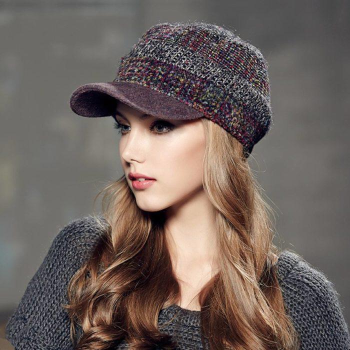 модные кепки весны