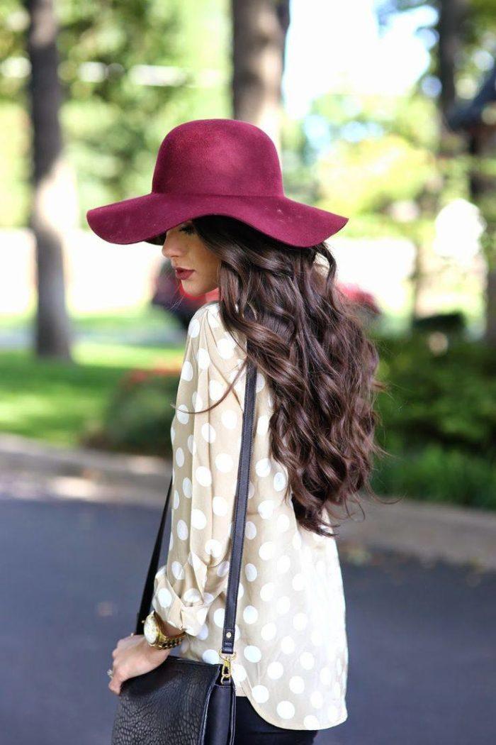 модные широкополые шляпы