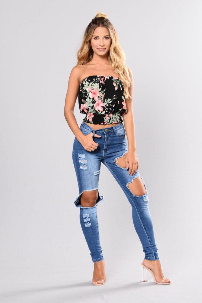 равные джинсы сезона