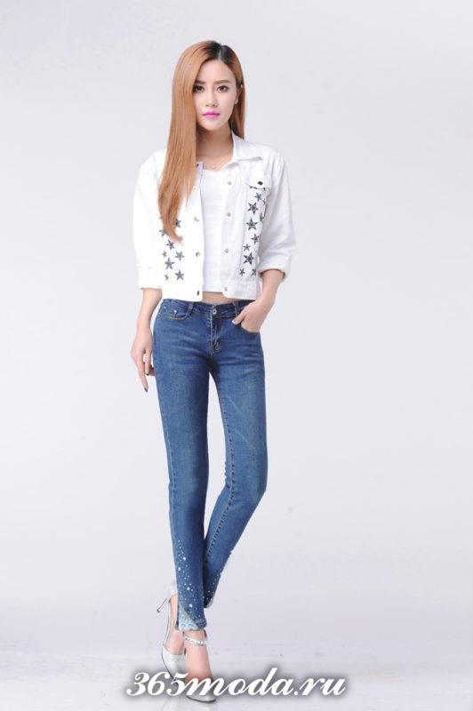 джинсы классические