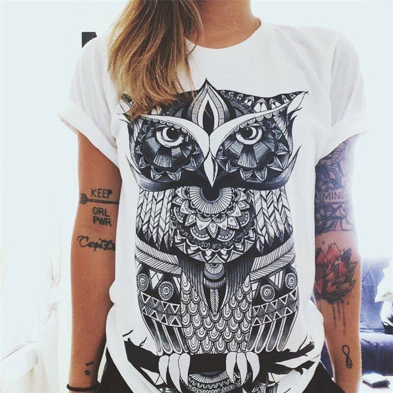 стильная футболка принт