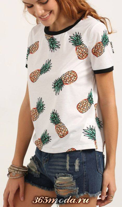 модные принты маек и футболок