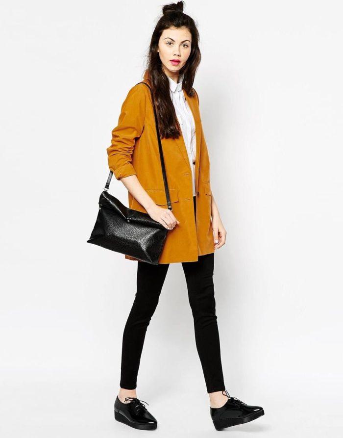 пиджаки оверсайз в моде