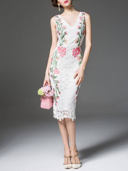 платье на выпускной принт