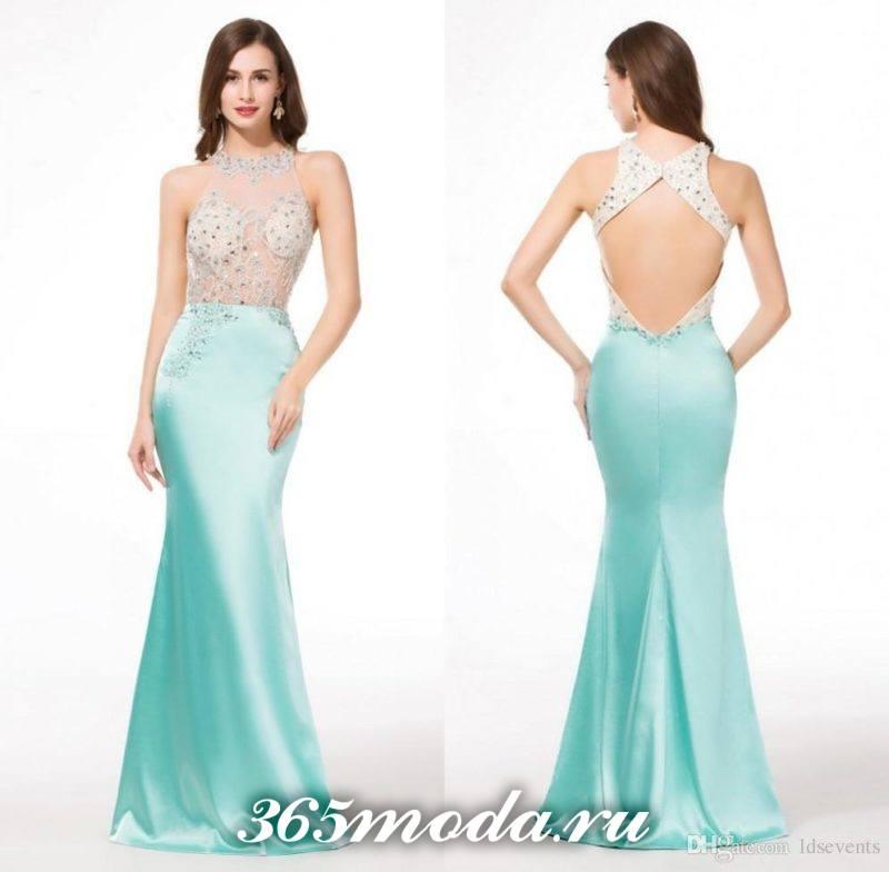 модные цвета выпускных платьев
