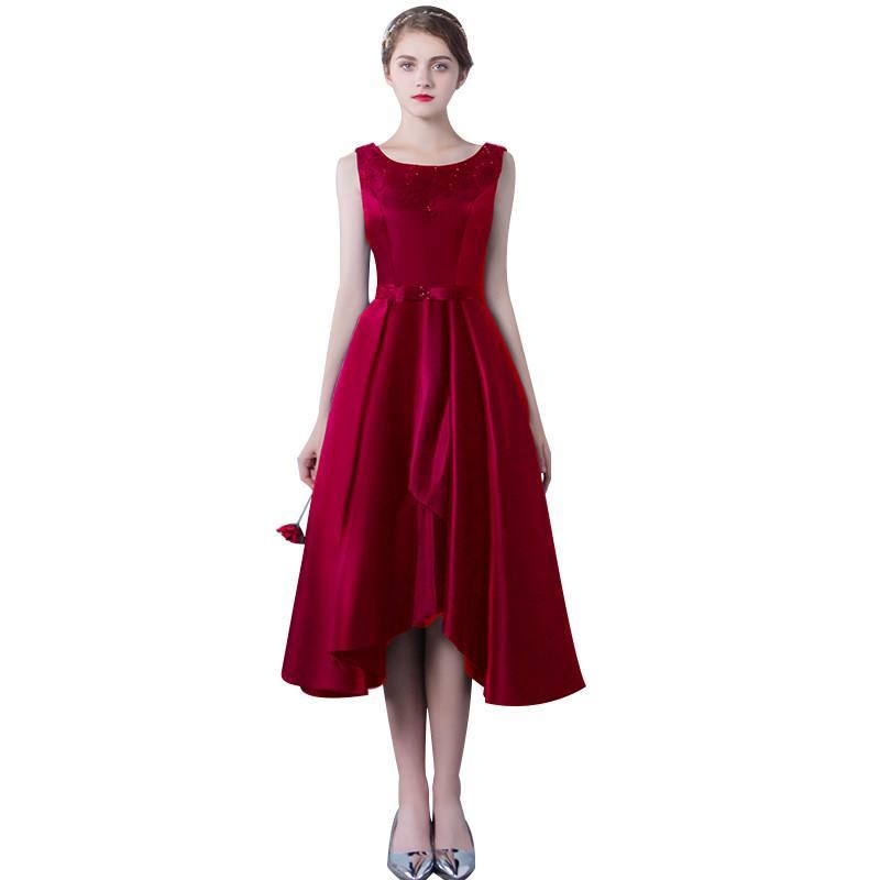 платье цвета гренадин на выпускной