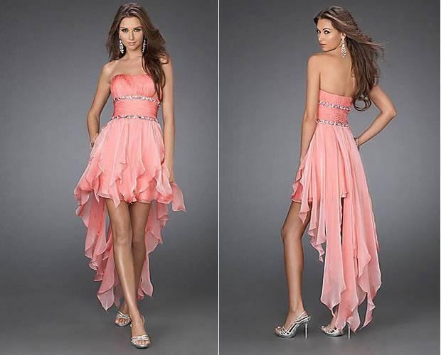 модные платья маллет