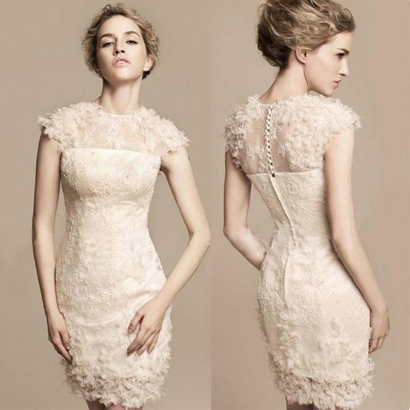 модные короткие платья на выпускной