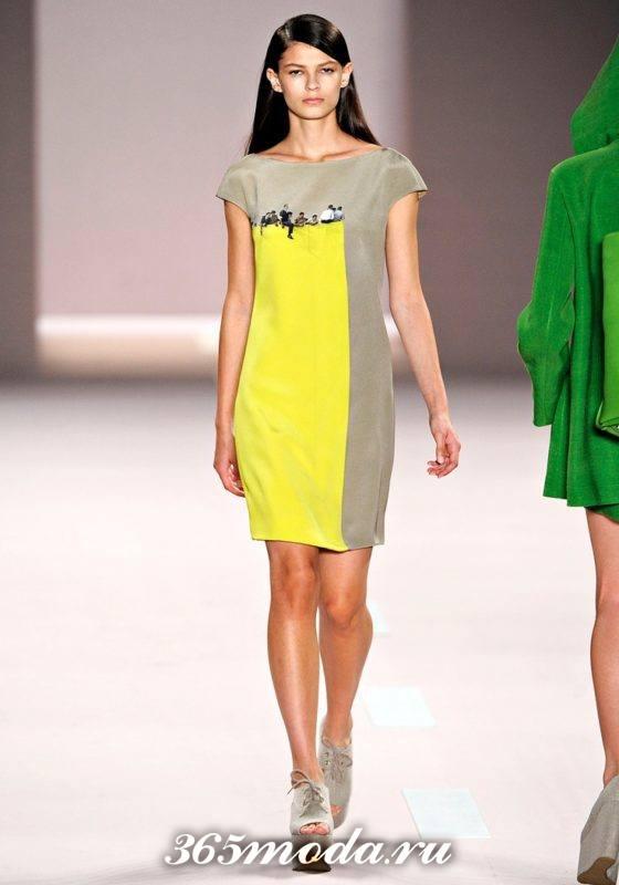 модные классические платья