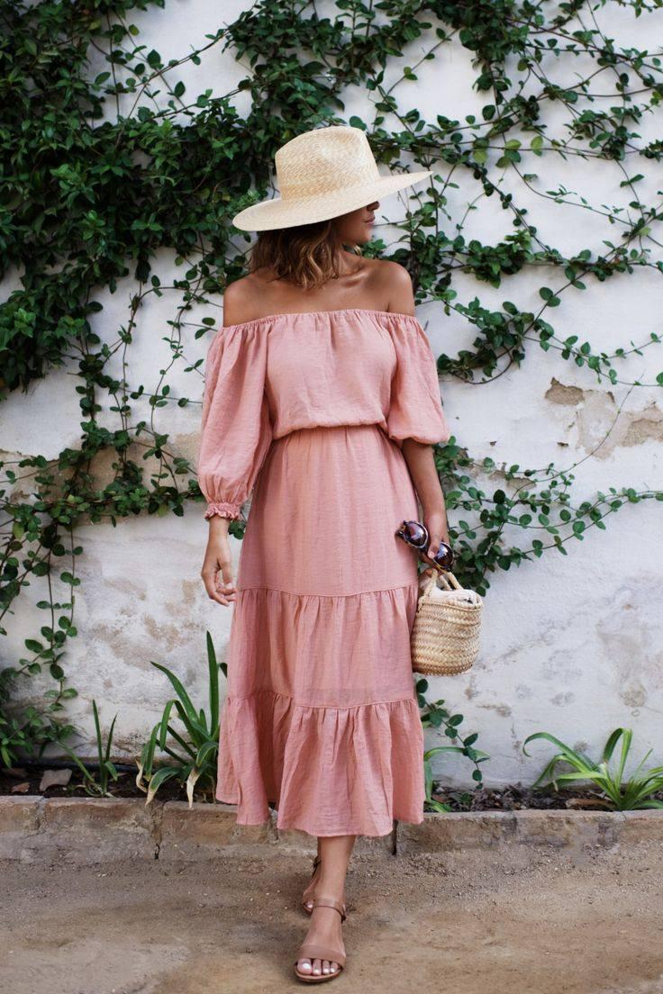 Весна лето платья