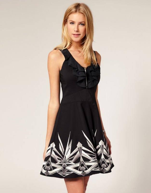 платья весна 2021 с принтом