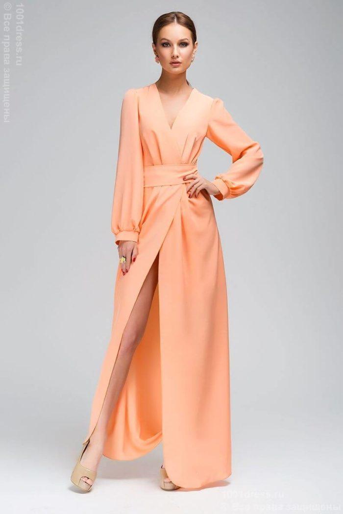 модные платья с запахом