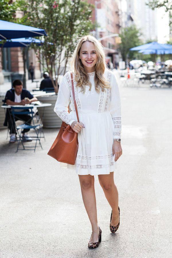 модные повседневные платья весна-лето 2019: светлые
